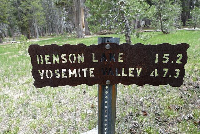 Yosemite Valley is a long walk