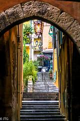 Villefranche steps