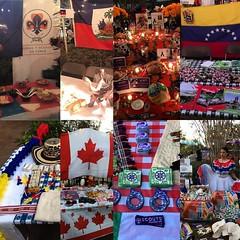 Americas party. #ScoutsChile, #ScoutsHaiti, #ScoutsMexico, #ScoutsVenezuela, #ScoutsColombia, #ScoutsCanada, #ScoutsHonduras, #ScoutsCostaRica. #ScoutIAR.  #IASCHTX #InteramericanScoutConference #IARSC26 #ConferenciaScoutInteramericana #SMJoseTexas #Messe