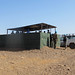 UNAMID Constructs observation post  near the IDP gathering site in Sortony.