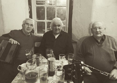 Three of the finest session musicians in County Clare, if not the world . . .