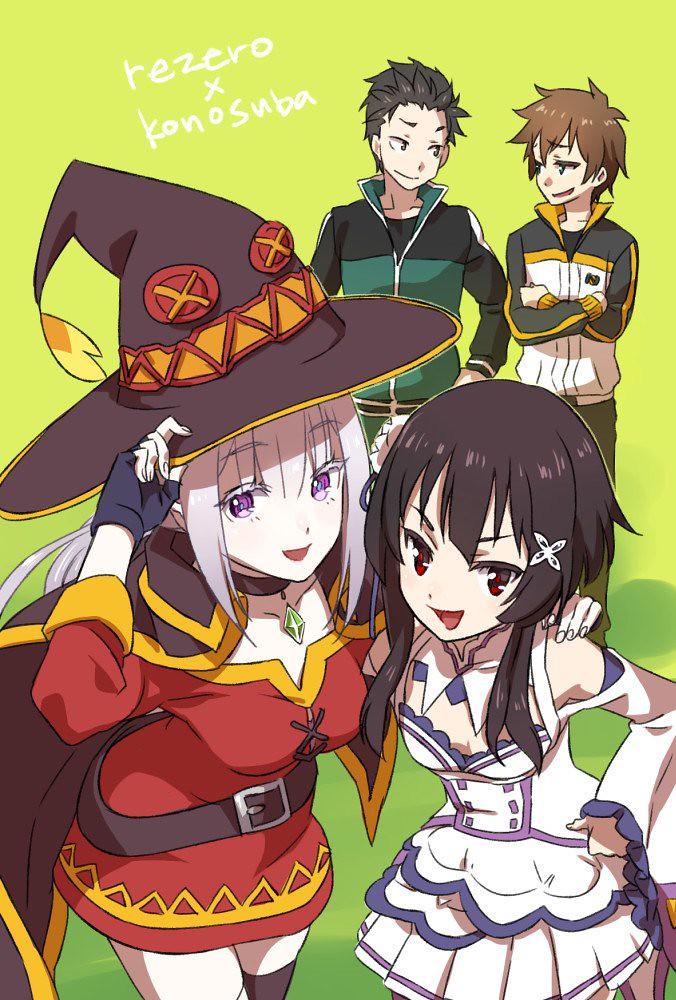 konosuba e rezero