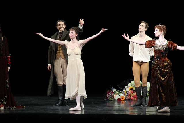 Mara Galeazzi's final curtain call  © ROH / Ruairi Watson