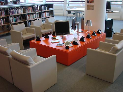 Pôle Sciences et Vie pratique - Le Salon de lecture numérique