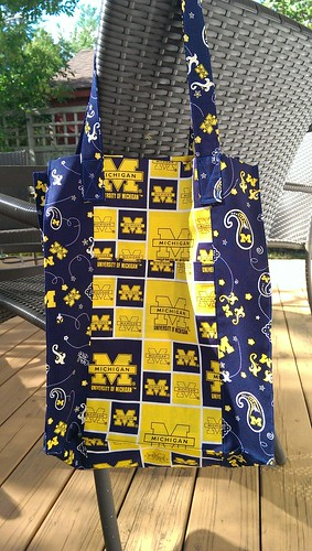 Jane Market Bag: the Go Blue edition