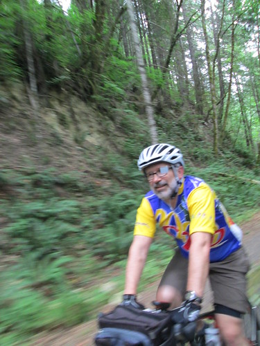 Paul on the Banks Vernonia trail