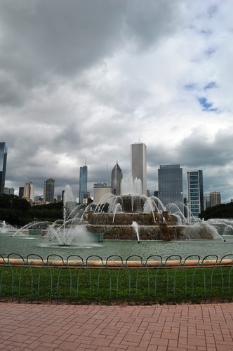 After So Many Years of Visiting Chicago, I Finally Got Close to Buckingham Fountain in Grant Park