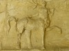 A frieze depicting a centaur recovered from the ancient Roman theater at Orange, France 2nd century CE (2)