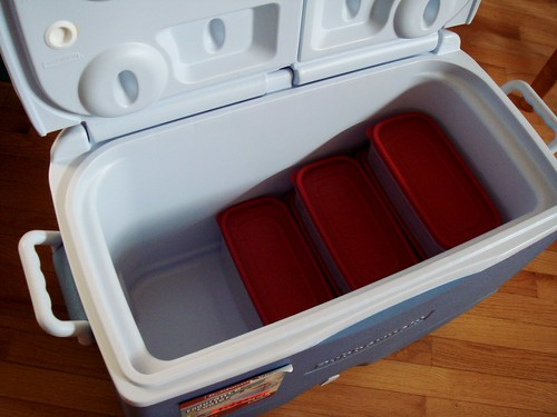 Cooler & Containers That Make Me Smile
