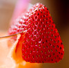 strawberry garnish