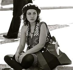 An attentive street photographer