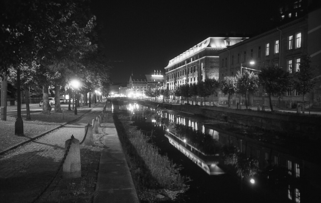 lonely night walk