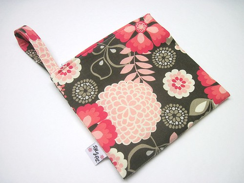 Pink Floral New Style Mama Wet Bag