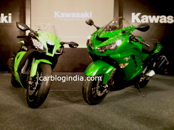 Kawasaki Ninja ZX-10R and Kawasaki Ninja ZX-14R
