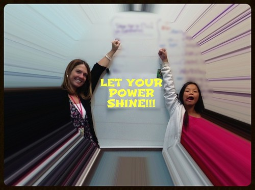 Let Your Power Shine! (Student-designed poster for our classroom walls! 2013-14)