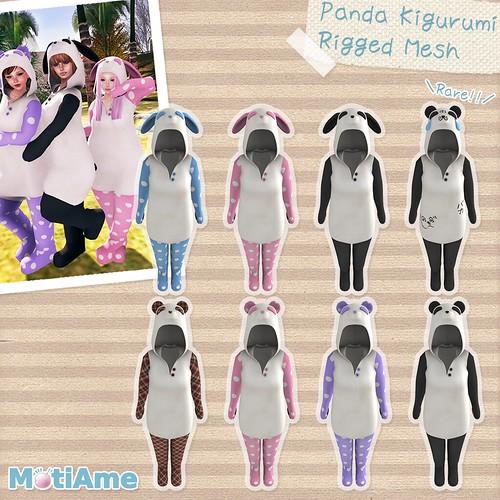 Panda Kigurumi Gacha