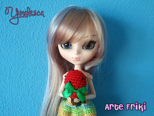 vestido dress crochet ganchillo doll Pullip