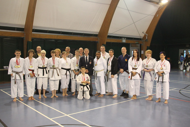 The BHSKC Competitors with Shihan Cummins