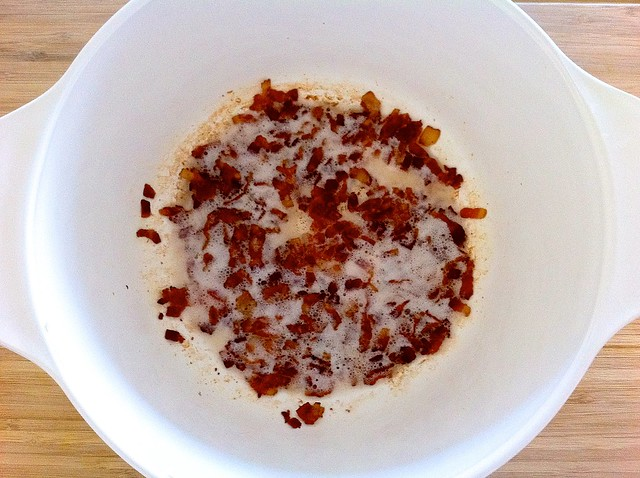 Crispy Bacon in Pot