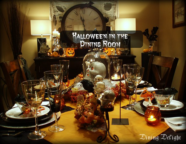 Dining delight halloween in the room
