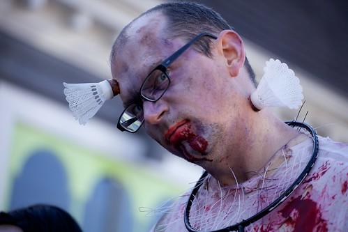 badminton zombie