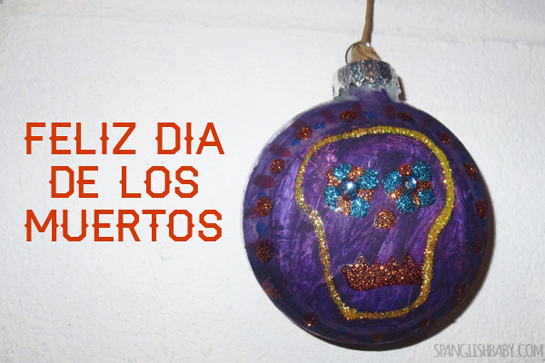 feliz day of the dead ornaments