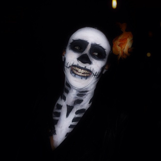 awkward skelly hates pictures #halloween