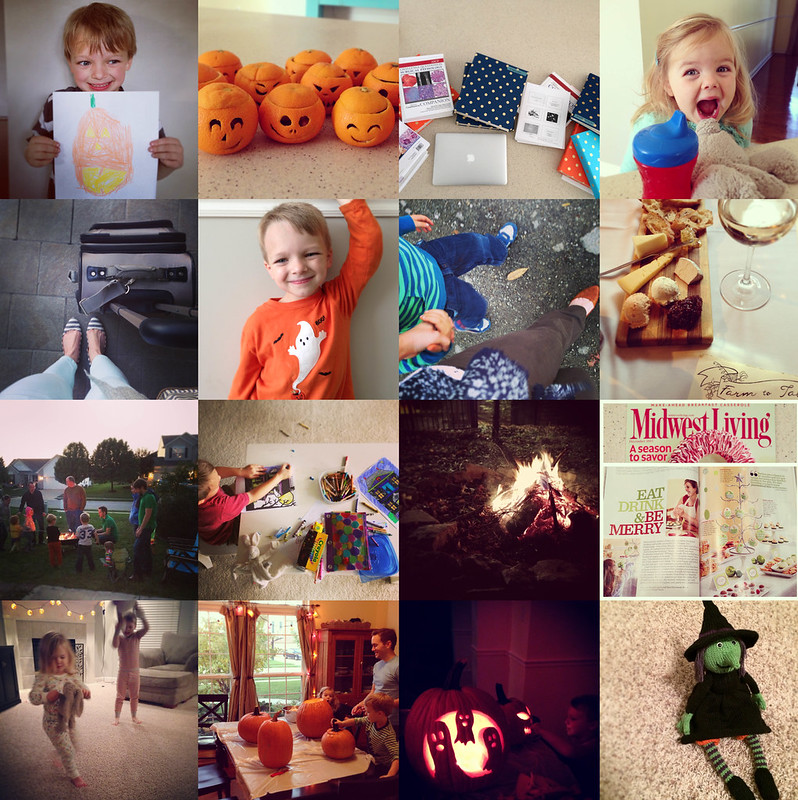 october {in an instagram}