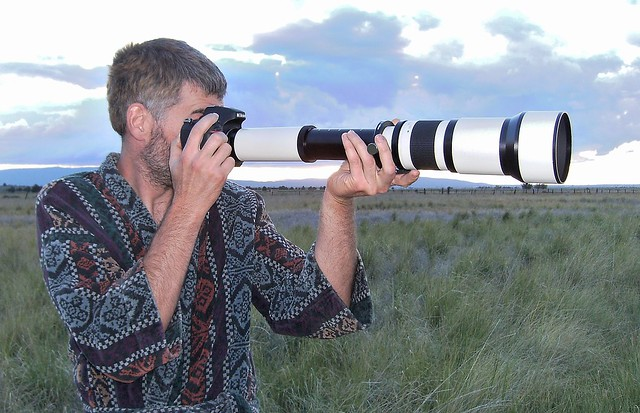 Telephoto Lens by Flickr CC Darron Birgenheier