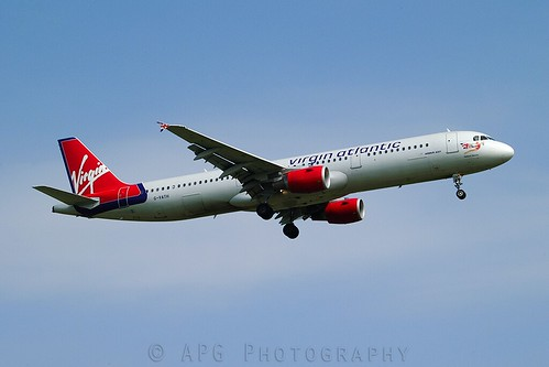 G-VATH Virgin Atlantic Airbus A321