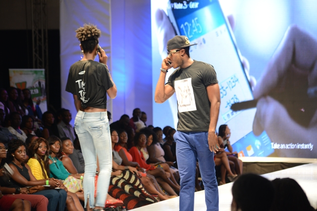 Samsung Goes Glam at the Glitz African Fashion Week