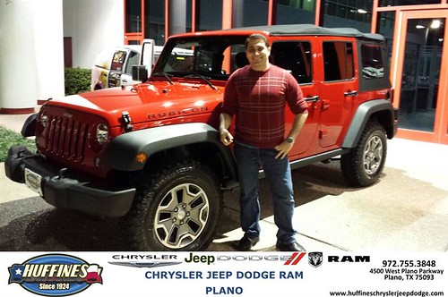 Perfect Thank You To Charlie Isaksson On Your New 2014 #Jeep #Wrangler Unlimited  From Ruben Perez And Everyone At Huffines Chrysler Jeep Dodge RAM Plano!