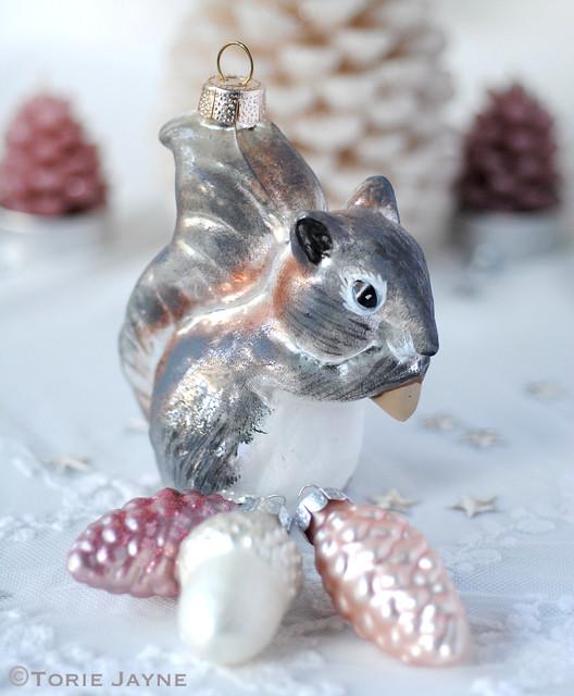 Squirrel Christmas Decoration