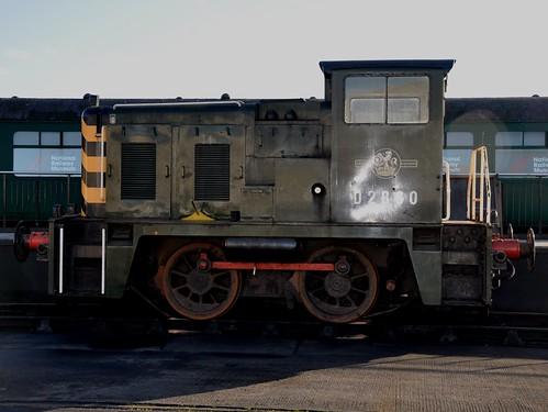 Class 02 Shunter D2860