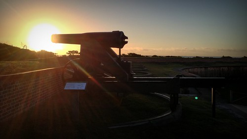 Sunrise Cannon Fire