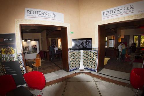 Reuters cafe