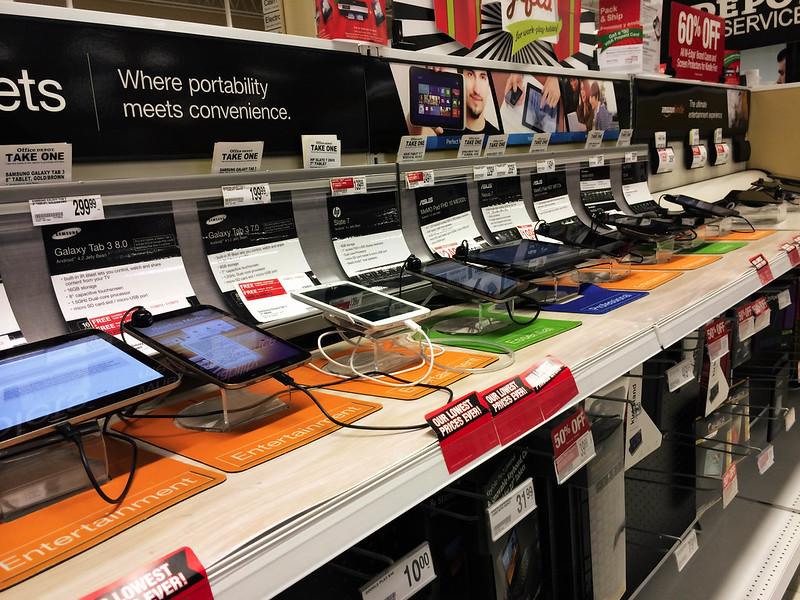 cute & little blog | shopping for tablets at office depot #shop #cbias #IntelTablets