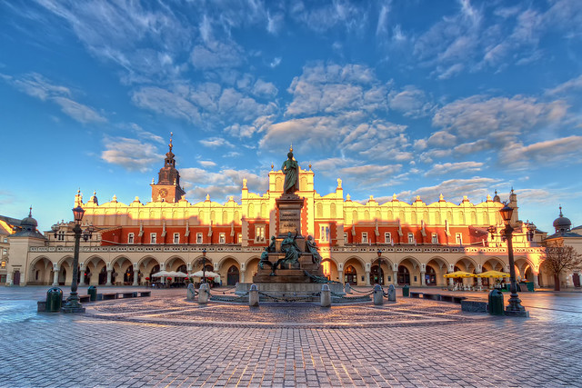First Light on the Kraków Main Square | Poland