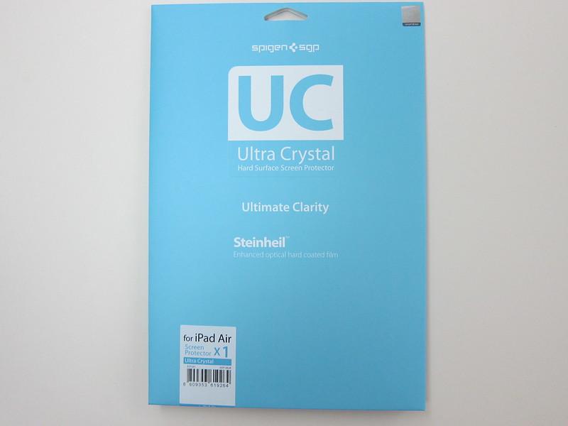 Spigen SGP Ultra Crystal Screen Protector - Packaging Front