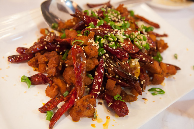 Chongqing spicy chicken, Lan Sheng