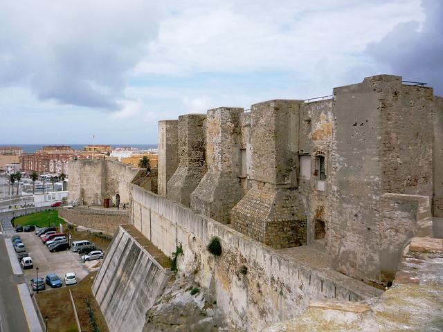Mirador der Burg von Tarifa