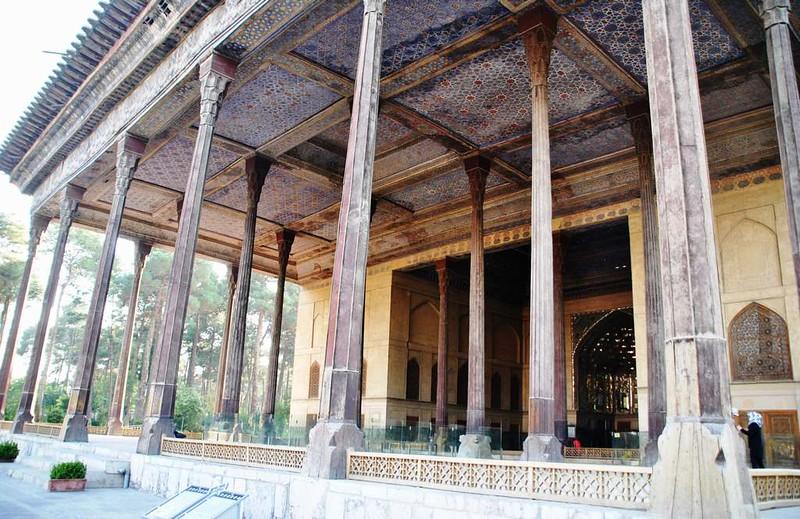 63 Palacio de Chehel Sotun o de las 40 columnas en Isfahan (30)