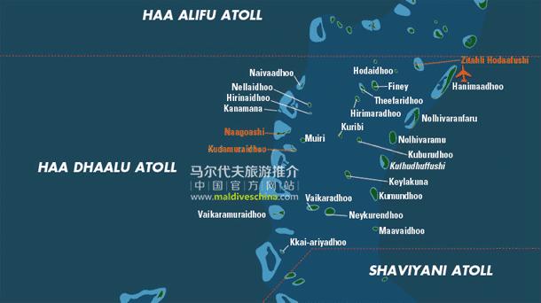 马尔代夫Haa Dhaalu环礁