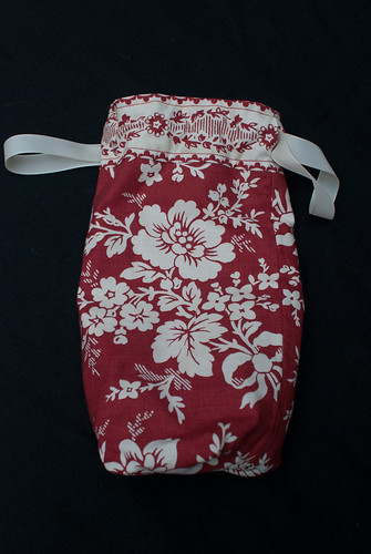 Drawstring bag - front view