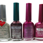 Sally Hansen Wink, Holly Daze, Far Out! Frost, Opening Night
