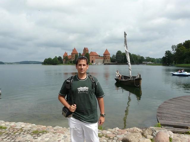 Sele en el castillo de Trakai (Lituania)