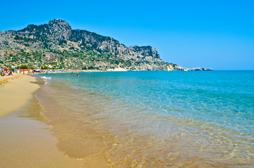 Лучшие Пляжи Родоса - самые популярные
