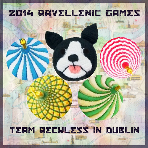 Ravellenic Games Team Reckless in Dublin 2014