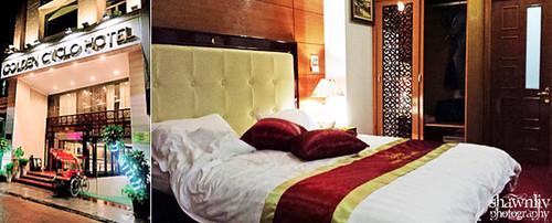 Golden Cyclo Hotel Hanoi Vietnam