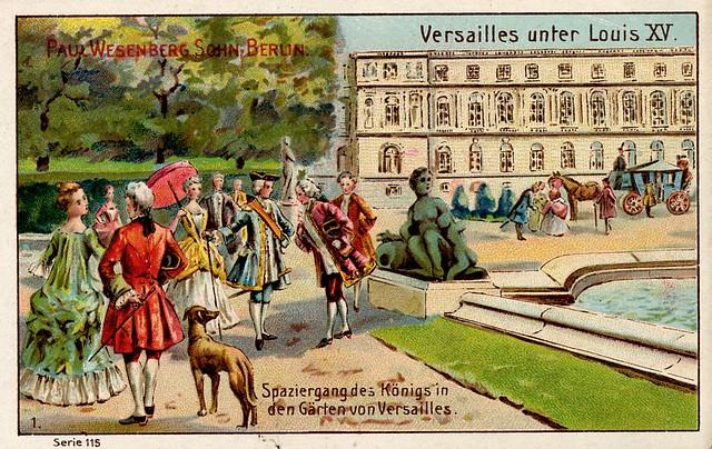 paul Wesenberg Sohn Berlin  Versailles Louis XV (2)